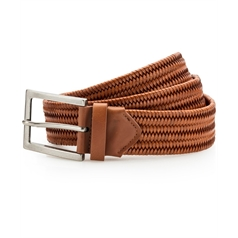 Asquith & Fox Leather Braid Belt