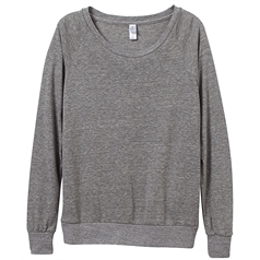 Alternative Apparel Women's Eco-Jersey Slouchy Pullover
