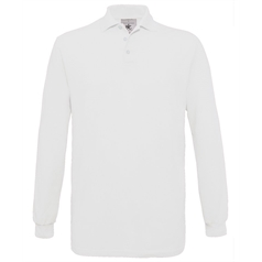 B&C Collection Men's Safran Long Sleeve Polo Shirt