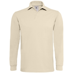 B&C Collection Men's Heavymill Long Sleeve Polo Shirt
