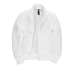 B&C Collection Women's Mesh Lined Trooper Bomber Jacket