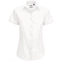 B&C Collection Women's Smart Small Sleeve Shirt