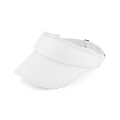 Beechfield Headwear Adult's Sponge Cleanable Sports Visor
