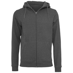 Build Your Brand Adult's Heavy Zipped Hooded Sweatshirt