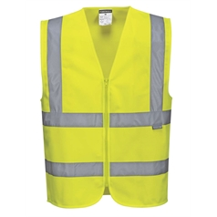 Portwest Adult's Hi-Vis Zipped Vest