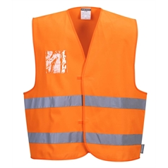 Portwest High Visibility Two Band ID Holder Safety Vest