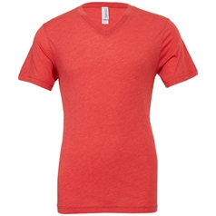 Bella Canvas Adult's Triblend V-Neck T-Shirt