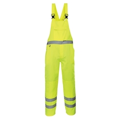 Portwest Texpel Finish High Visibility Bib and Brace
