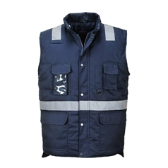 Portwest Iona Reflective Tape Bodywarmer
