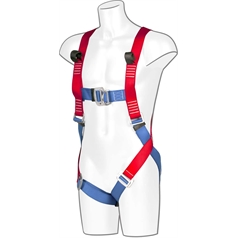 Portwest Fall Protection Front & Rear Full Body Harness