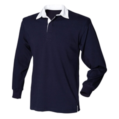 Front Row Men's Long Sleeve Rugby Shirt