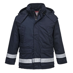Portwest BizFlame Plus Flame Resistant Anti-Static Winter Jacket