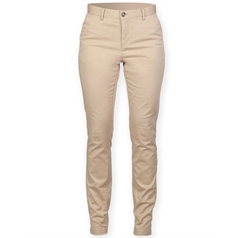 Front Row Men's Stretch Flat Front Chino Trouser