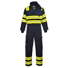 Portwest BizFlame Wildland Fire Flame Resistant Anti Static Coverall