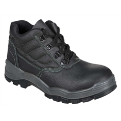 Portwest Steelite Work Green Sticthed S1 Safety Boot