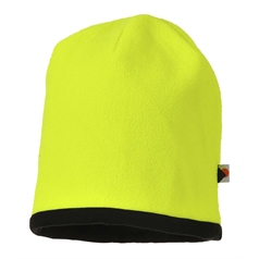 Portwest Accessories Range Reversible Hi-Vis Beanie Hat