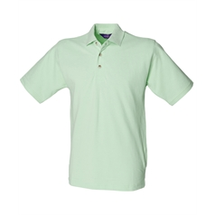 Henbury Men's Classic Stand Up Collar Polo Shirt