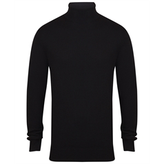 Henbury Men's Roll-Neck Jumper