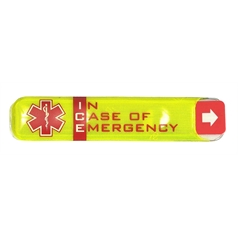 Portwest Safety Yellow ID Holder