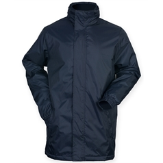 Finden & Hales Men's Mid Length Touchline Jacket