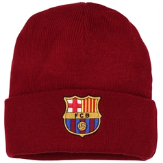 Official Football Merchandise Adult's Barcelona FC Core Beanie