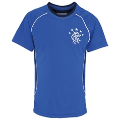 Official Football Merchandise Children's Rangers T-Shirt