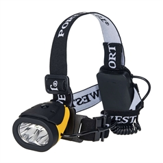 Portwest Lights Dual Power Lightweight Headlight Torch