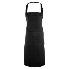 Premier 100% Fairtrade Pocket Cotton Bib Apron