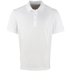 Premier Men's Coolchecker Fitted Pique Polo Shirt