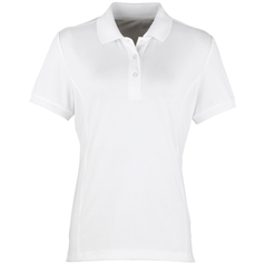Premier Women's Coolchecker Fitted Pique Polo Shirt