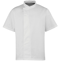 Premier Unisex Culinary Pull On Short Sleeve Chef's Tunic