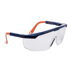Portwest Safety Adjustible Arm Safety Eye Screen Plus Spectacle