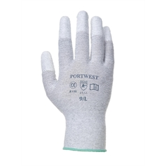 Portwest Antistatic PU Fingertip Dipped Glove