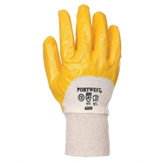 Portwest Nitrile Dipped Light Knitwrist Glove