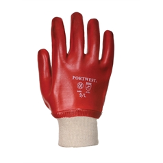 Portwest Fully Dipped PVC Knitwrist Glove
