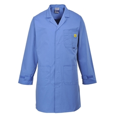 Portwest Adult's Anti-Static Conductive Material ESD Coat