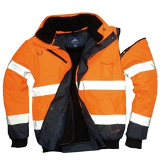 Portwest 3 in 1 High Visibility Contrast Bomber Jacket