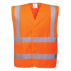 Portwest High Visibility Two Band and Brace Safety Vest