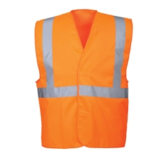 Portwest High Visibility One Band and Brace Safety Vest