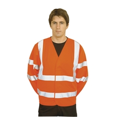 Portwest High Visibility Two Band & Brace Safety Work Jacket