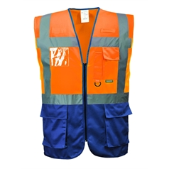 Portwest CE Certified Warsaw Executive Safety Vest