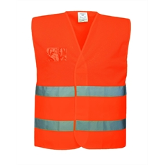 Portwest High Visibility Mesh Fabric Safety Vest