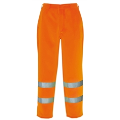 Portwest High Visibility Poly-Cotton Work Trousers