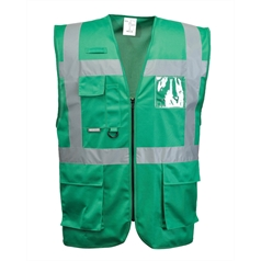 Portwest Iona Dual ID Window Executive Safety Vest