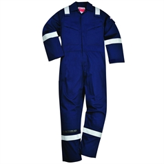 Portwest BizFlame Flame Resistant Padded Winter Anti-Static Coverall