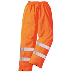 Portwest High  Visibility Rain Trousers