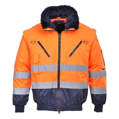 Portwest 3 in 1 High Visibility Pilot Jacket