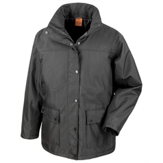 Result Work-Guard Adult's Platinum Concealed Hood Managers Jacket