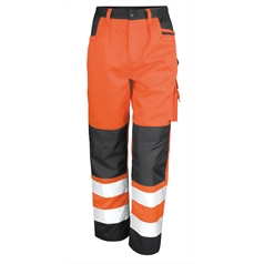 Result Core Men's Hi Vis Safety Cargo Trouser