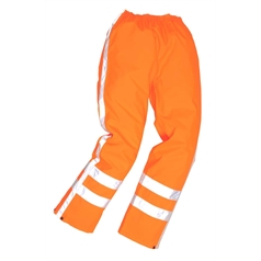 Portwest High Visibility Rail Industry RWS Traffic Trousers